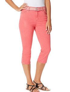 Bandolino Medium Red Capris & Crops
