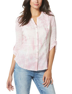 Vintage America Blues Pink Shirts & Blouses