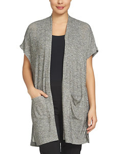 Chaus Grey Cardigans Sweaters