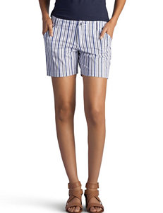 Lee Blue Stripe Soft Shorts