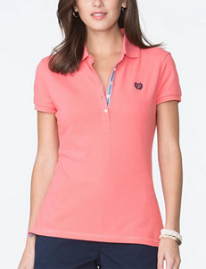 Chaps Coral Polos