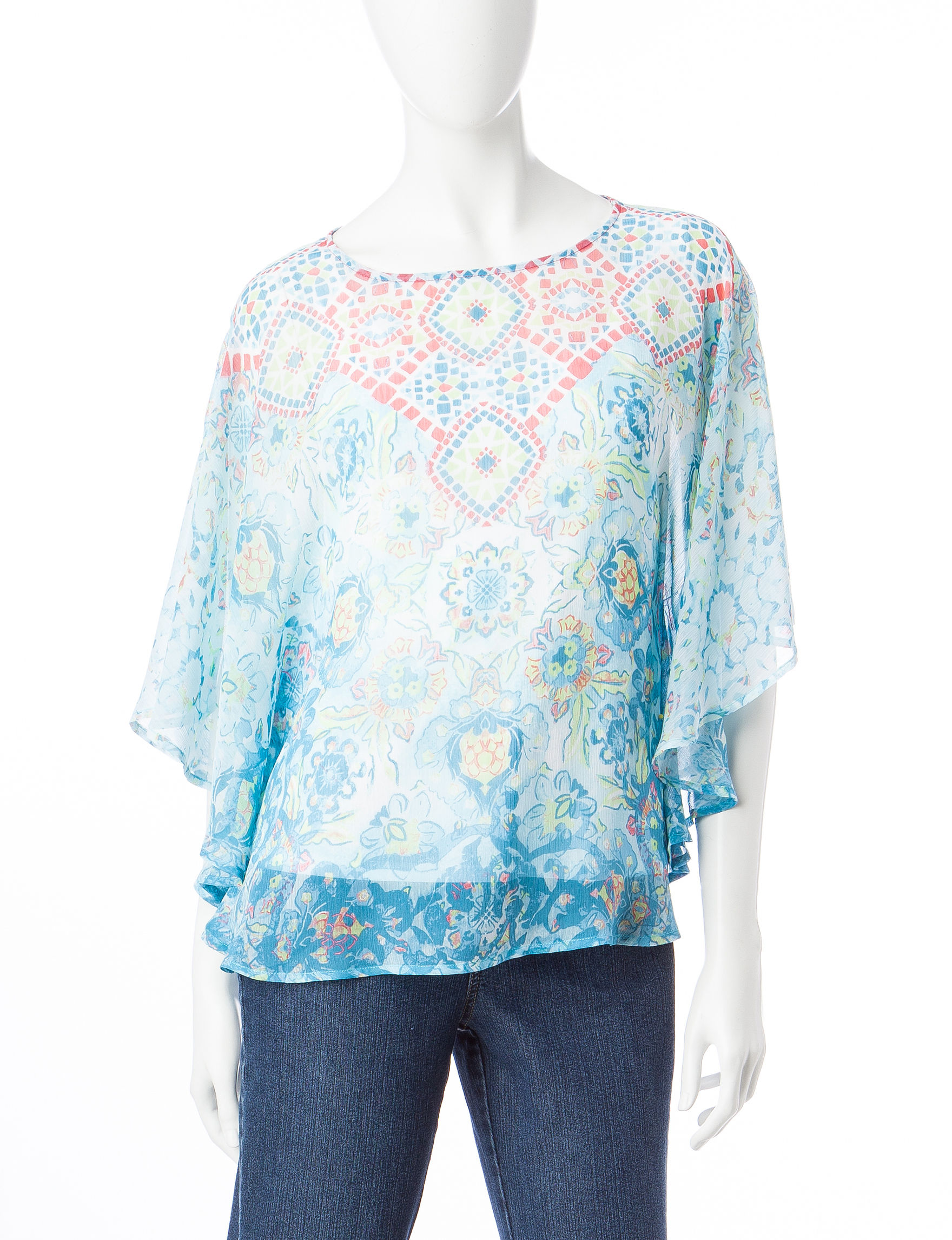 Ruby Road Aquamarine Shirts & Blouses