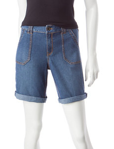 Hannah Dark Blue Denim Shorts