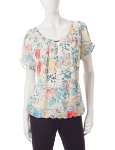 Sara Michelle Tan Shirts & Blouses