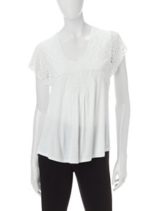 Energe White Shirts & Blouses