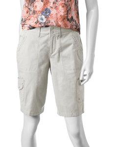 Gloria Vanderbilt Light Beige Soft Shorts