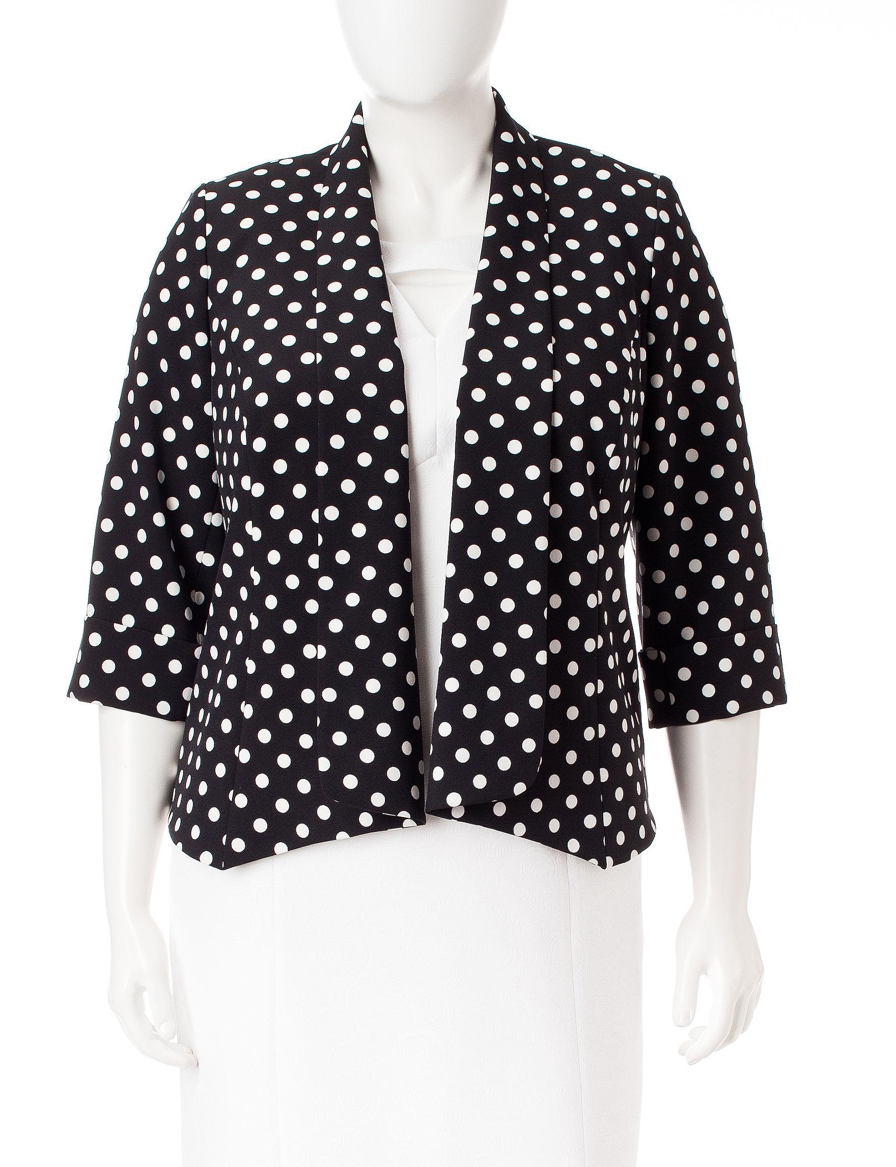 Kasper Black / White Lightweight Jackets & Blazers