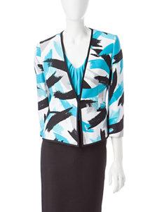 Kasper Blue Multi Lightweight Jackets & Blazers