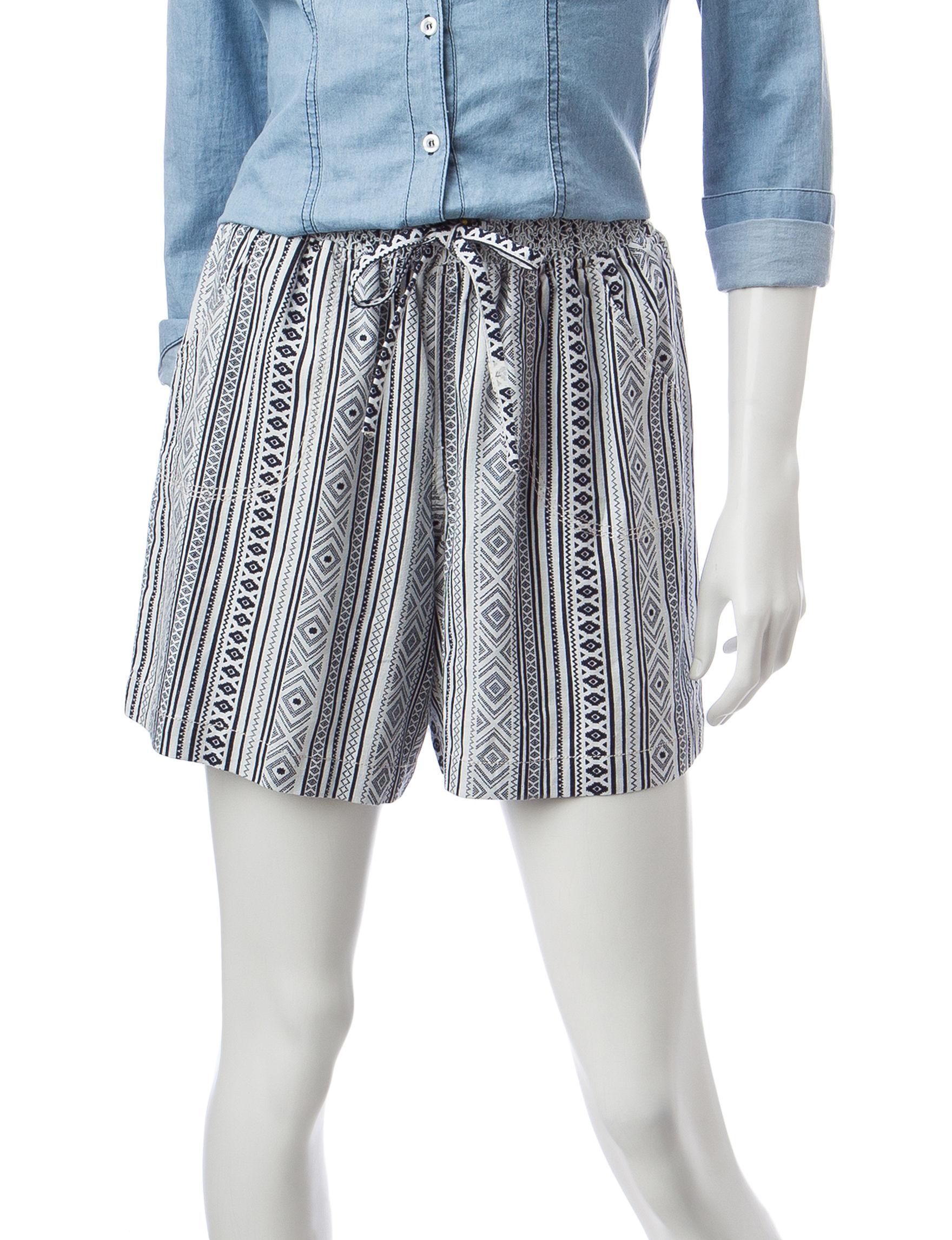 Hannah Ivory Soft Shorts