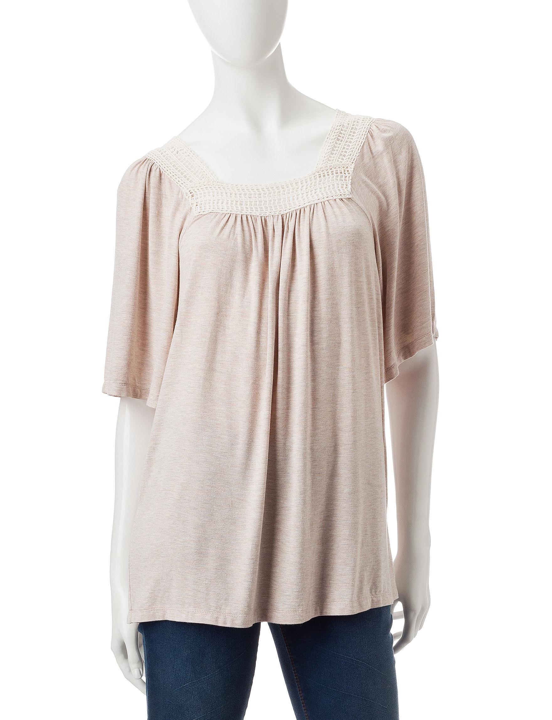 Hannah Oatmeal Shirts & Blouses