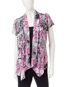 Sara Michelle White / Pink Shirts & Blouses