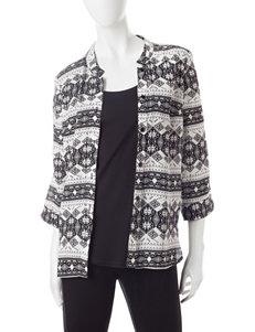 Sara Michelle Ivory / Black Shirts & Blouses