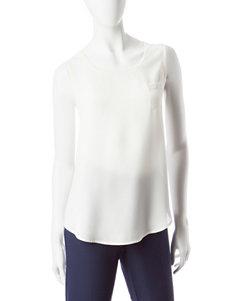 Valerie Stevens Ivory Shirts & Blouses