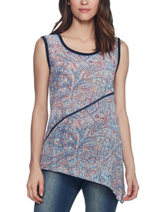 Skyes The Limit Navy Multi Tees & Tanks