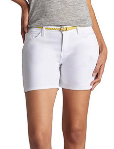 Lee White Denim Shorts