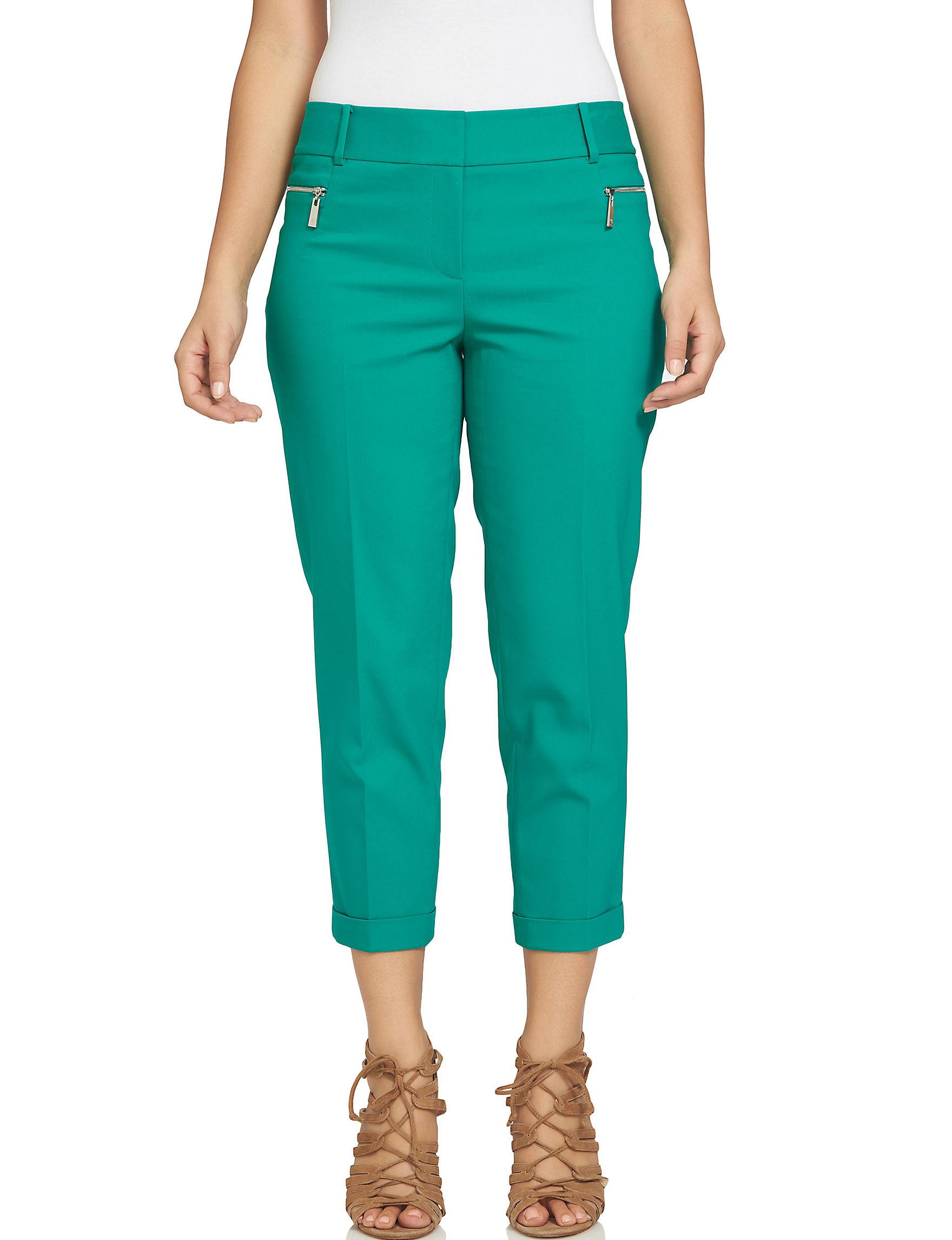 Chaus Green Soft Pants