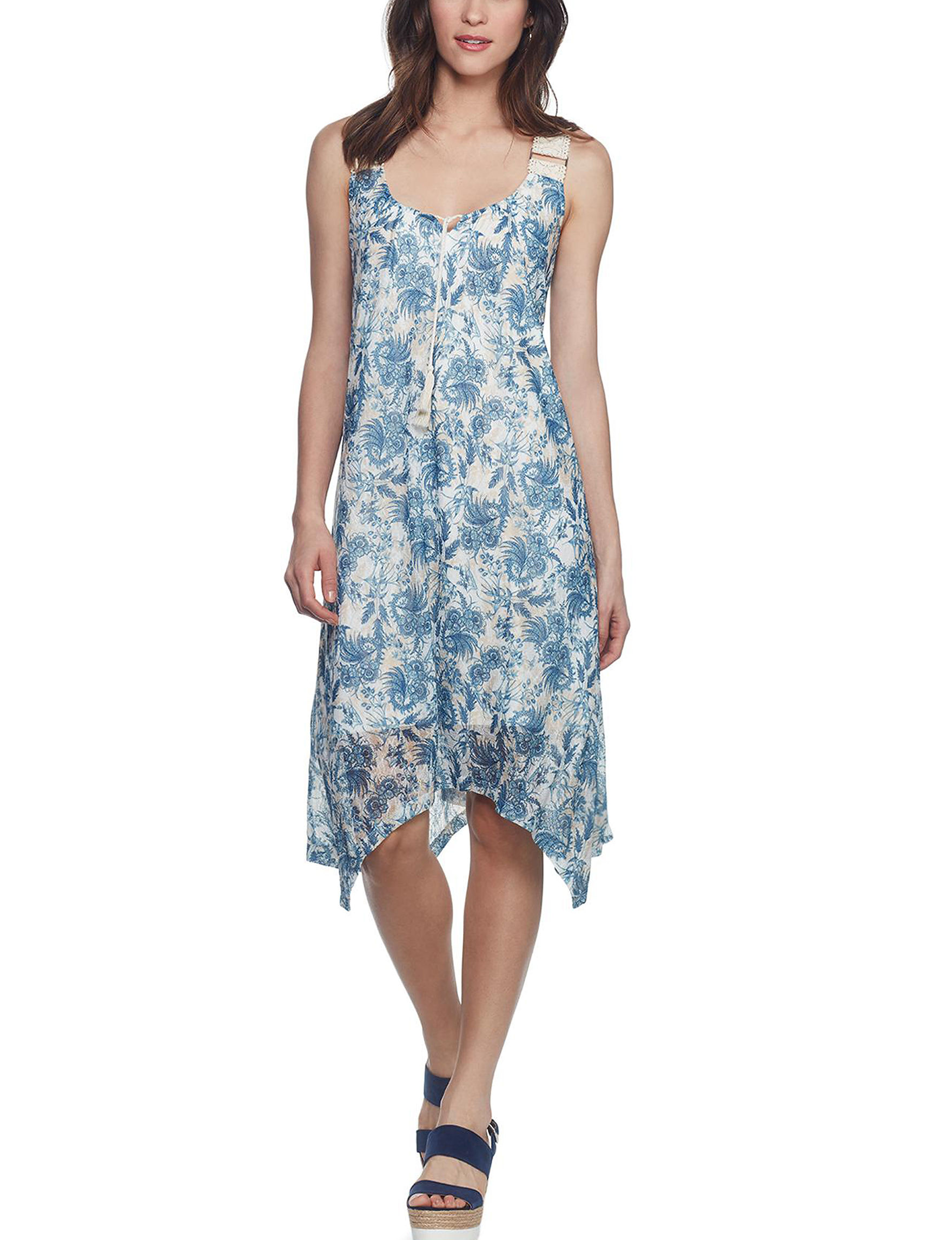 Skyes The Limit Navy Multi Everyday & Casual Sundresses