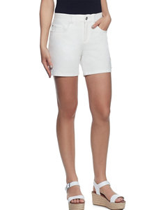 Skyes The Limit White Soft Shorts