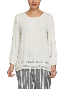 Chaus White Shirts & Blouses