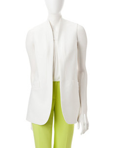 Anne Klein White Vests