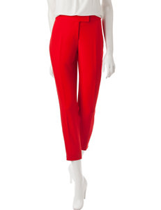 Anne Klein Red Soft Pants