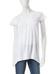 Hannah White Shirts & Blouses