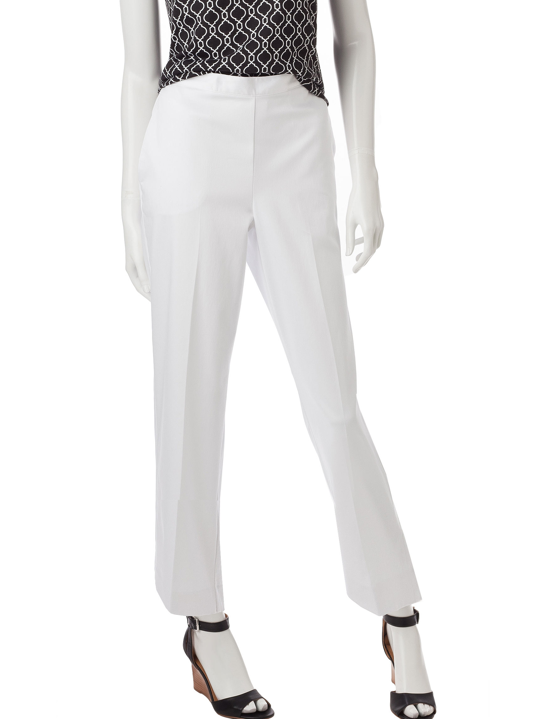 Alfred Dunner White Everyday & Casual