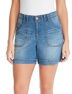 Gloria Vanderbilt Dark Blue Denim Shorts