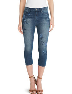 Gloria Vanderbilt Blue Capris & Crops Regular
