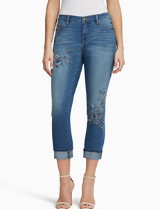 Miracle Jean Blue Capris & Crops
