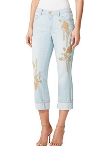 Miracle Jean Light Blue Capris & Crops