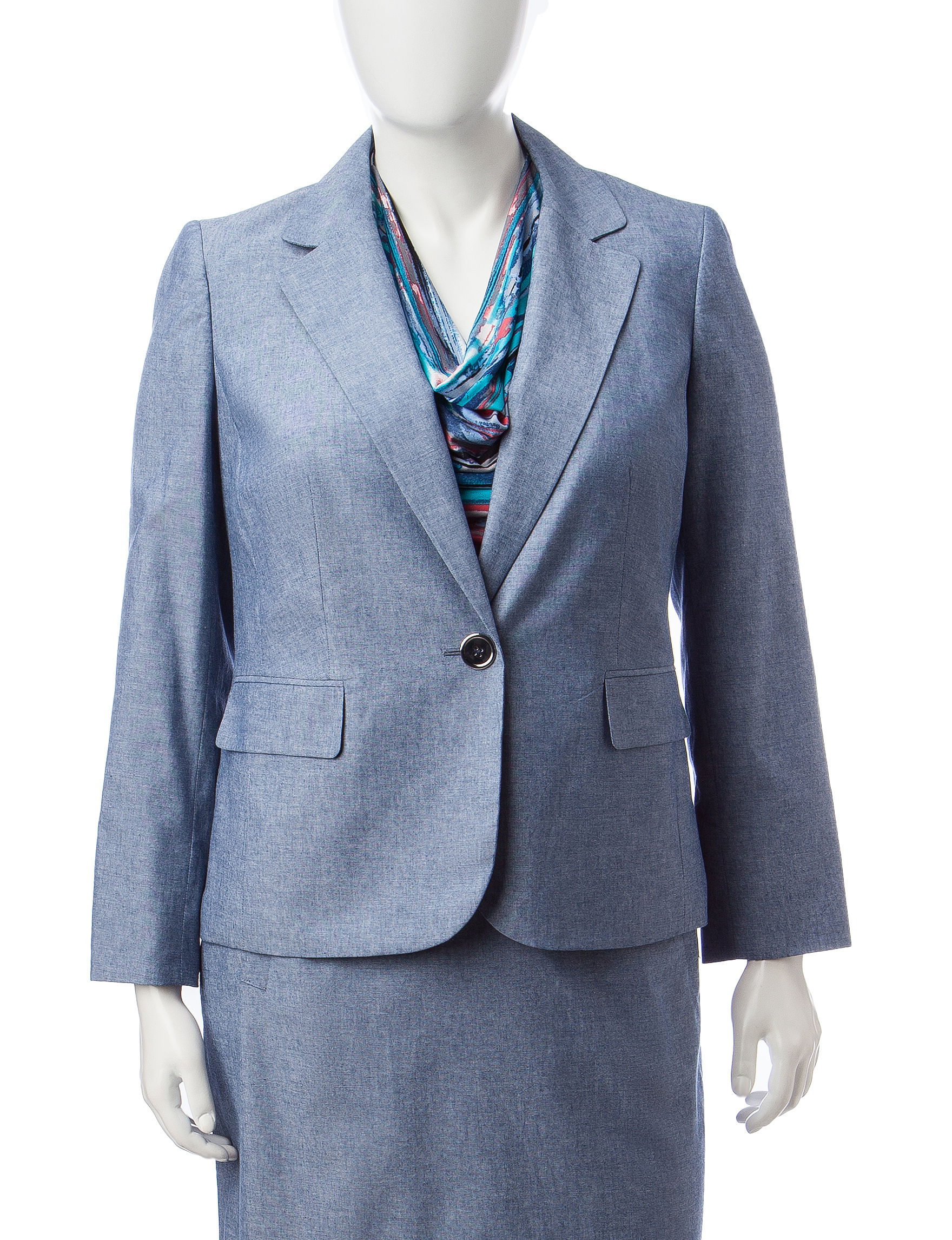 Kasper Blue Lightweight Jackets & Blazers
