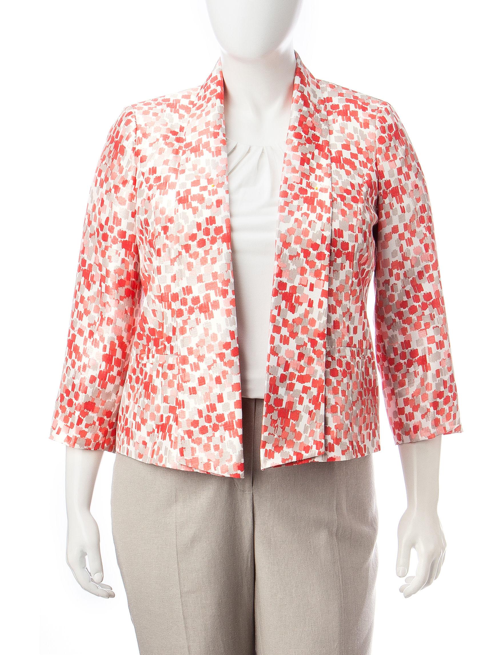 Kasper Pink Multi Lightweight Jackets & Blazers
