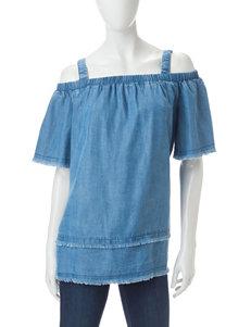 Rafaella Blue Shirts & Blouses