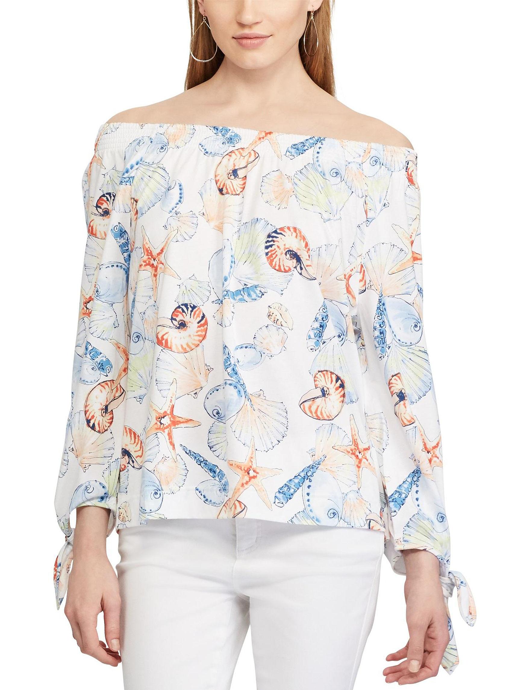 Chaps Pink Shirts & Blouses