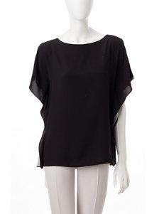 Anne Klein Black / Beige Shirts & Blouses