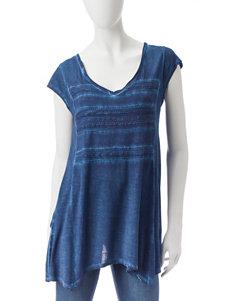 Hannah Indigo Shirts & Blouses