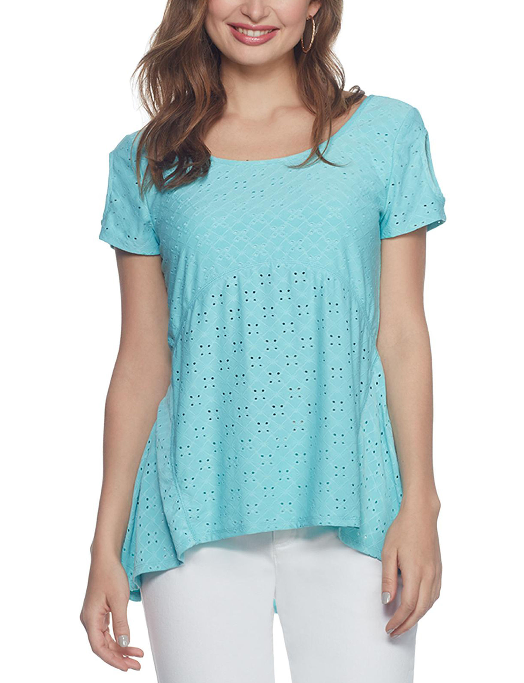 Skyes The Limit Blue Shirts & Blouses
