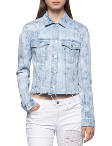 Calvin Klein Jeans Light Wash Denim Jackets