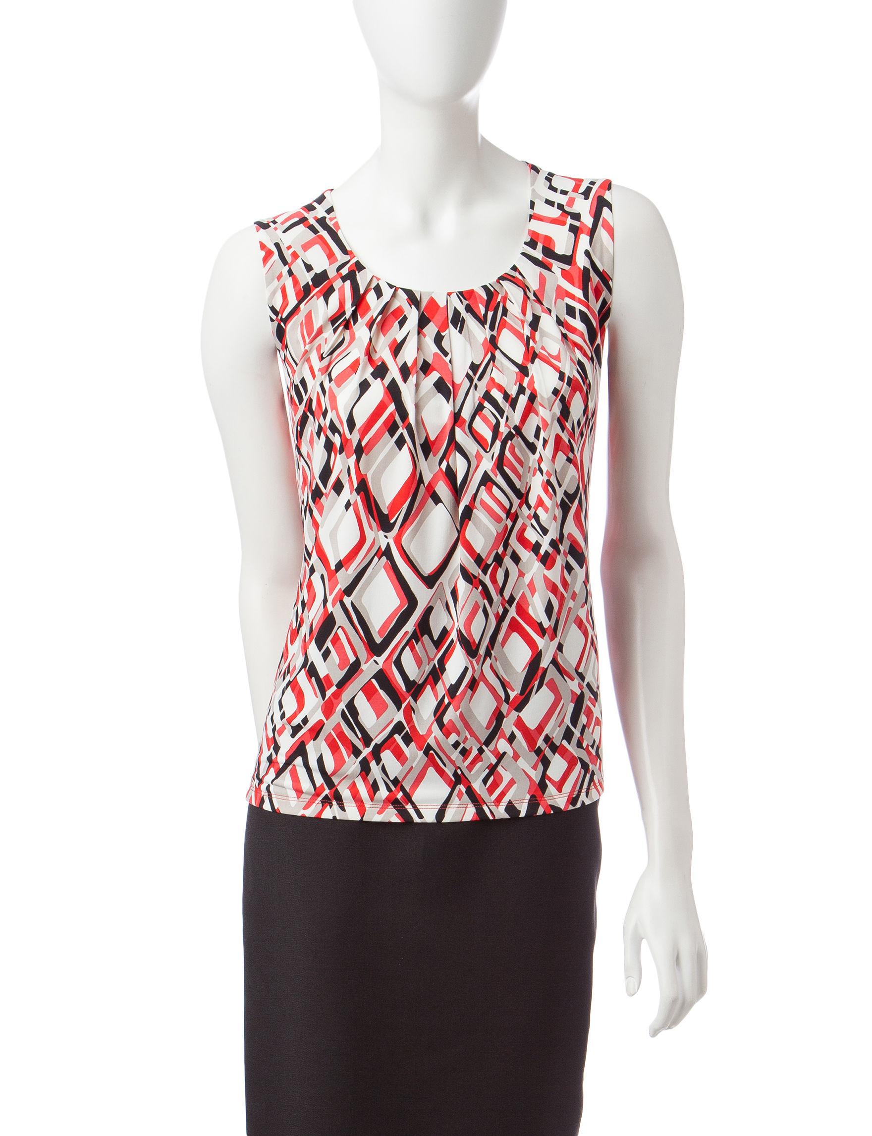 Kasper Coral Shirts & Blouses
