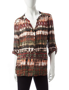 Sara Michelle Olive Shirts & Blouses
