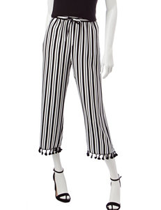 Valerie Stevens Striped Print Pants