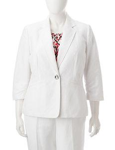 Kasper White Lightweight Jackets & Blazers