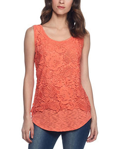 Skyes The Limit Coral Camisoles & Tanks
