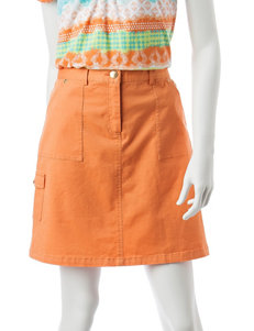 Hearts of Palm Twill Cargo Skort