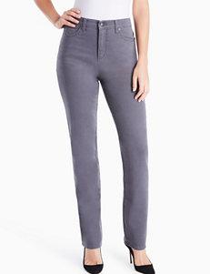 Gloria Vanderbilt Grey Slim Slim Straight Straight