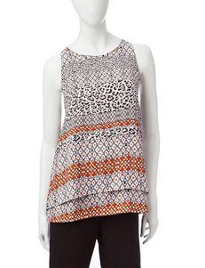 Valerie Stevens Beige Shirts & Blouses