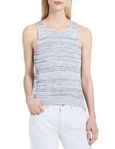 Calvin Klein Jeans White Camisoles & Tanks Tees & Tanks