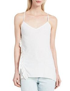 Calvin Klein Jeans Ivory Camisoles & Tanks
