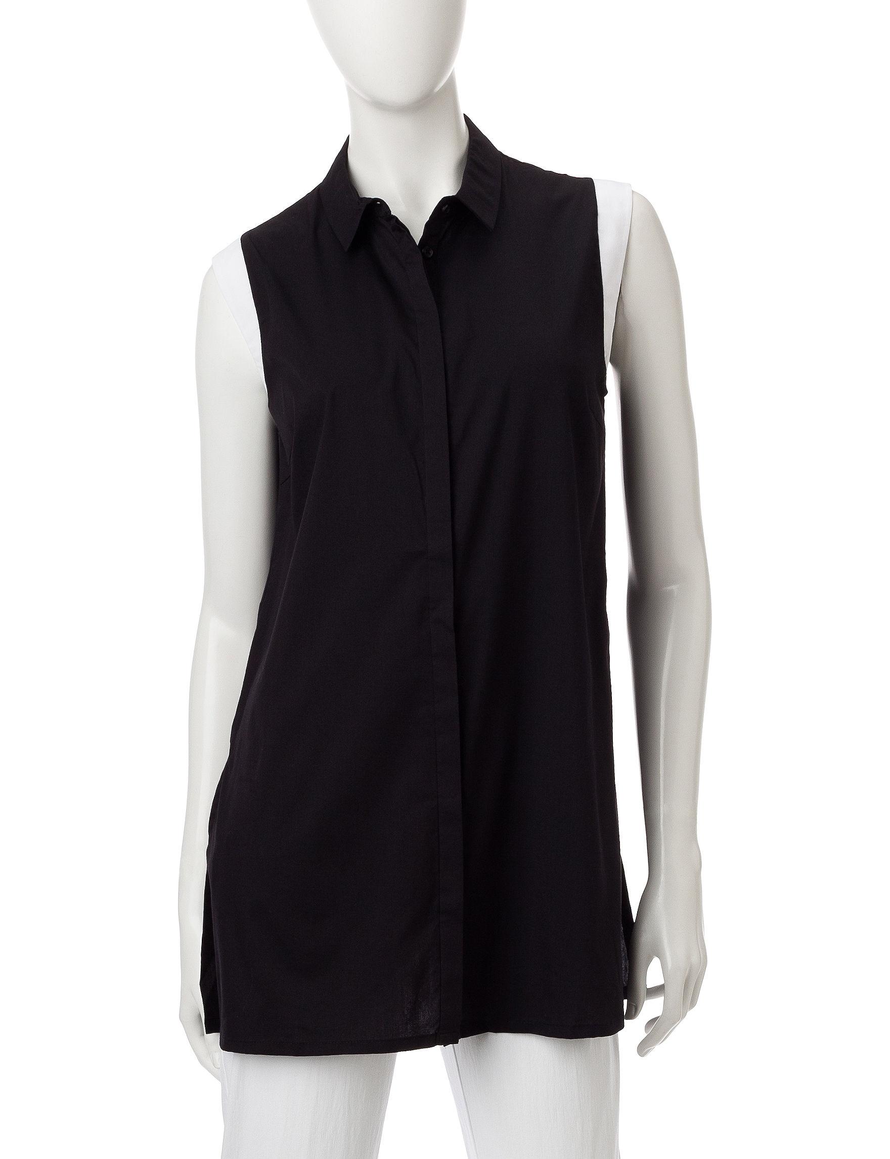 Valerie Stevens Black / White Shirts & Blouses